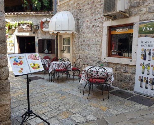 Рестораны Старой Будвы