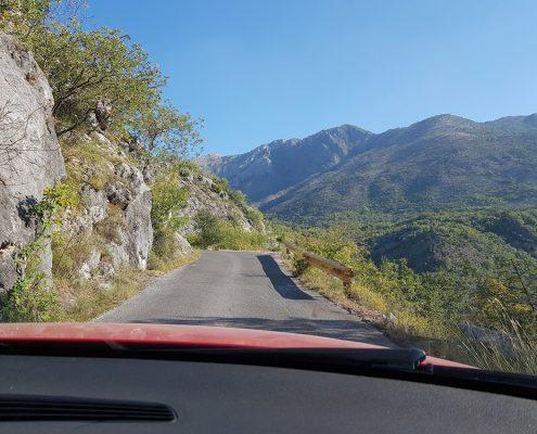 Дорога вдоль Скадара