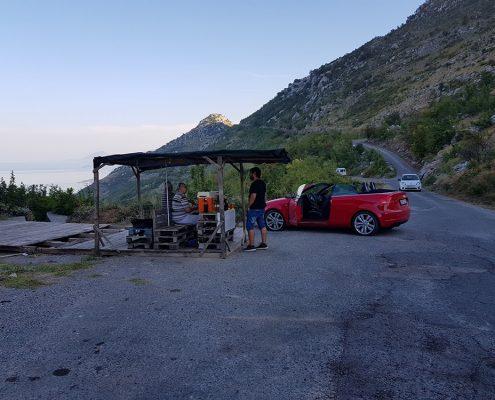 Сувенирные лавки на Скадарском озере