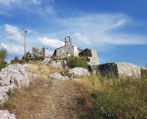 Город-крепость Медун
